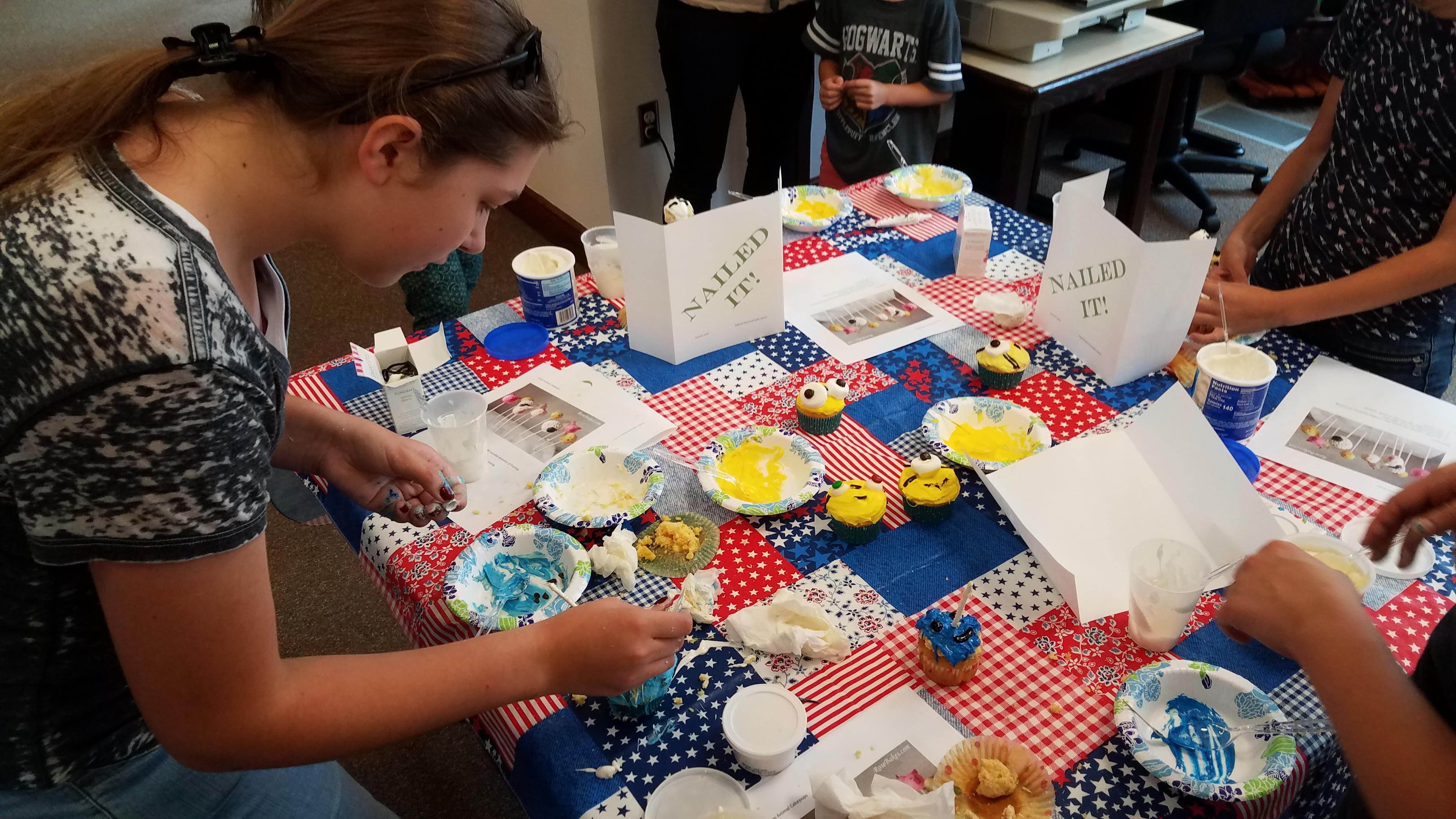 Nailed It! cupcake edition 2018 SLP